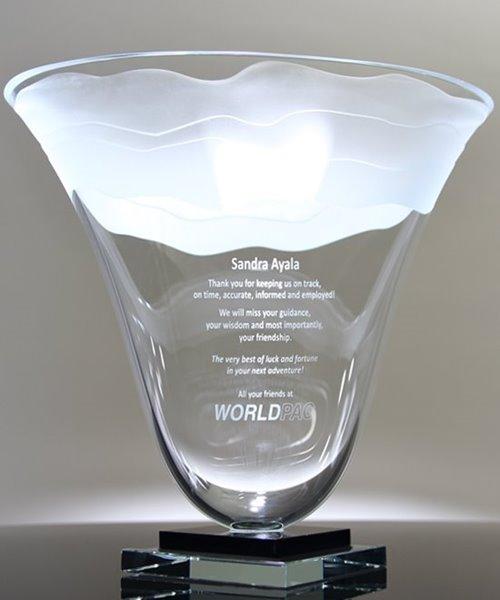 Picture of Lunar Tides Trophy Vase