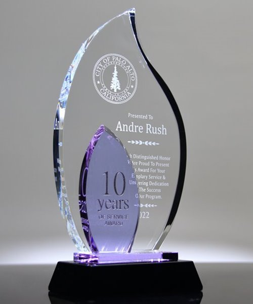 Picture of Lavender Flame Award