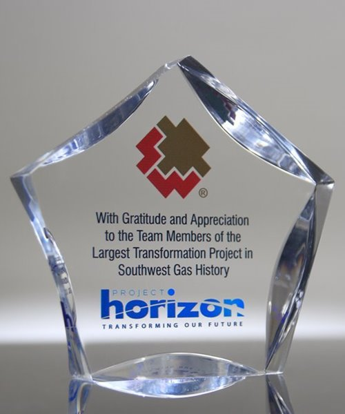 Picture of Full Color Acrylic Star Award