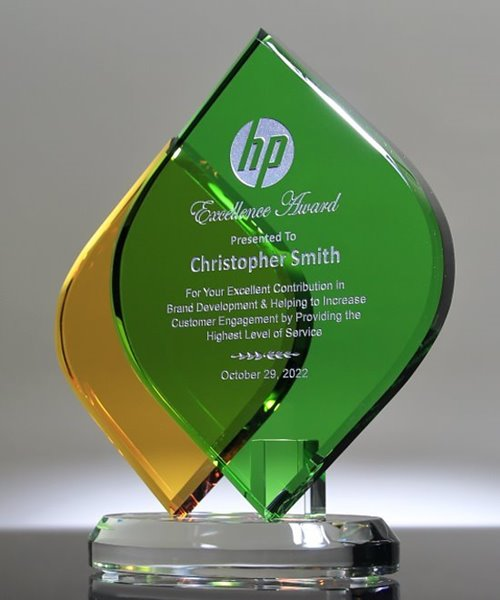 Picture of Tropical Remix Crystal Award