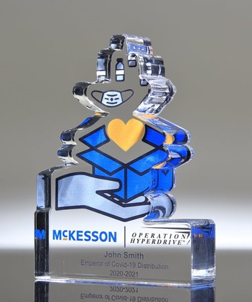 Picture of Bespoke Acrylic Paperweight
