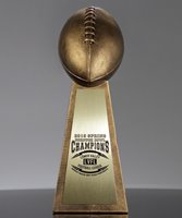 Picture of Vince Lombardi Gold Replica Trophy