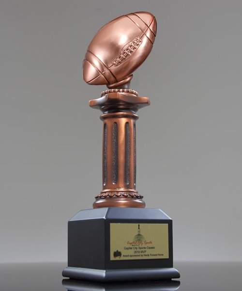 Picture of Football Pedestal Award