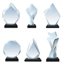 Our Top Eye-Catching Crystal Awards of 2021