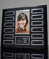 Picture of Ebony Perpetual Photo Plaque 12 Plates