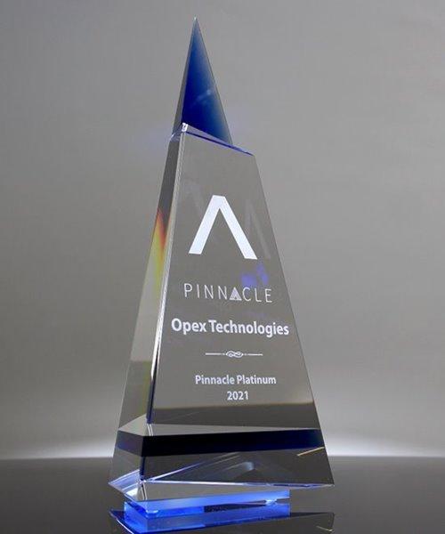 Picture of Indigo Peak Crystal Award