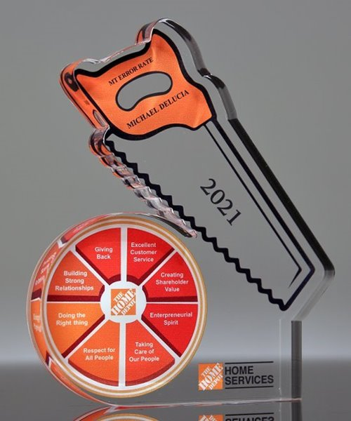 Picture of Acrylic Saw Award