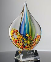 Picture of Expression Art Glass Award