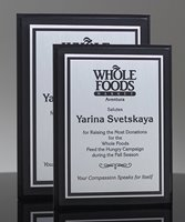 Picture of Black Acrylic Award Plaque